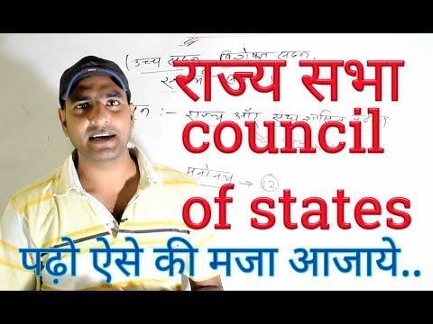 राज्य सभा ( council of states)
