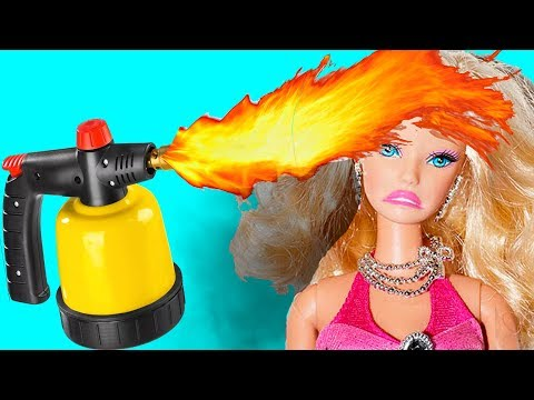 17 Clever Barbie Hacks And Crafts | DIY Barbie Ideas for Kids