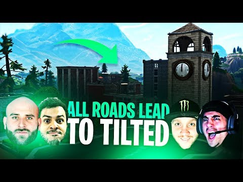 ALL ROADS LEAD TO TILTED! (ft.Marcel, Nickmercs & KyleLong)   Fortnite Battle Royale Highlights #131