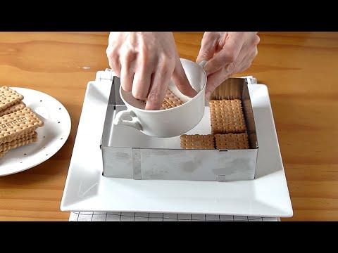 Mojé las galletas en leche y preparé esta deliciosa TARTA en 10 minutos