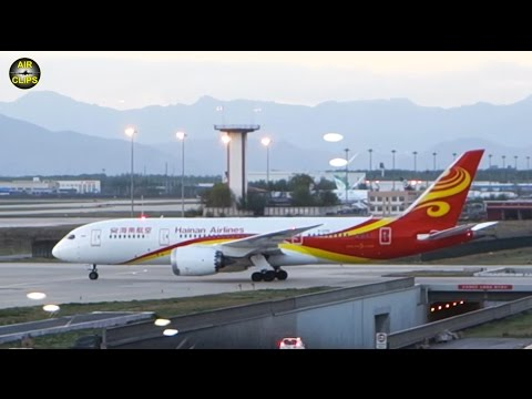 SKYTRAX 5-STAR Hainan Boeing 787 BUSINESS Class Haikou-Beijing! [AirClips full flight series]