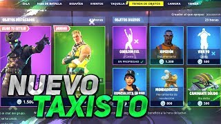 *NEW SKIN TAXISTO* FORTNITE STORE January 30
