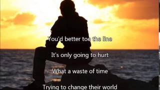 GTR ~ Toe the Line ~ Lyrics
