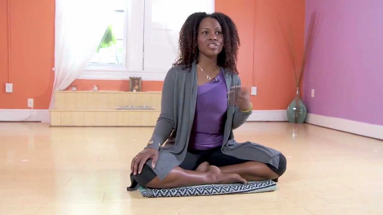 Practice yoga with mindfulness by Faith Hunter