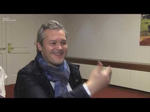 Vadim Repin talks to Christian Weidmann, argovia philharmonic