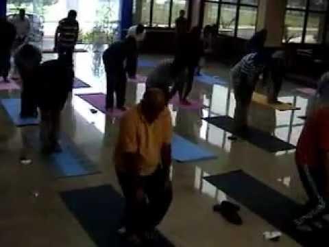 yoga teach