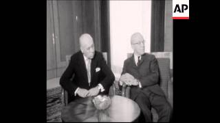 UPITN 05 05 74 CEAUSESCU MEETS FINNISH PM