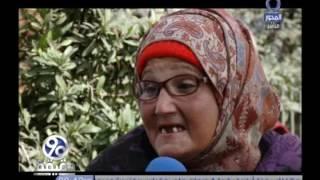 بالفيديو.. سيدة تعيش على «الرصيف» منذ 7 سنوات: «معايا ربنا.. وبنام من غير خوف»