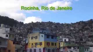 Rocinha Bike Ride: through favela, passing by Hostel Rocinha, to view of Rio and Christ the Redeemer