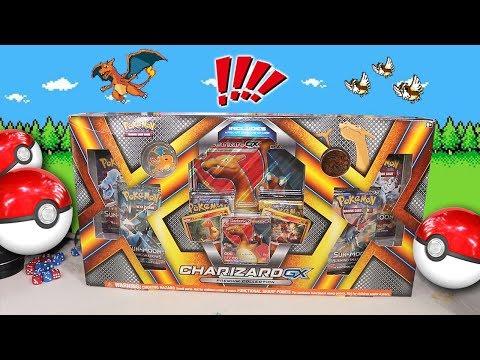 Download Youtube: Opening a Pokemon Charizard GX Premium Box!