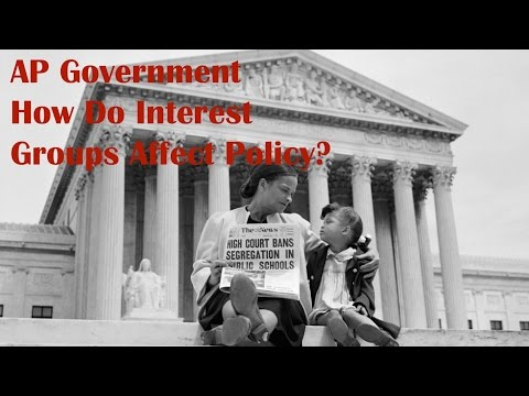 How Do Interest Groups Affect Policy?: AP Government
