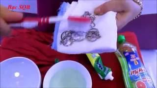 Bạc SQB | Làm sáng trang sức bạc tại nhà chỉ trong 1 cái búng tay .