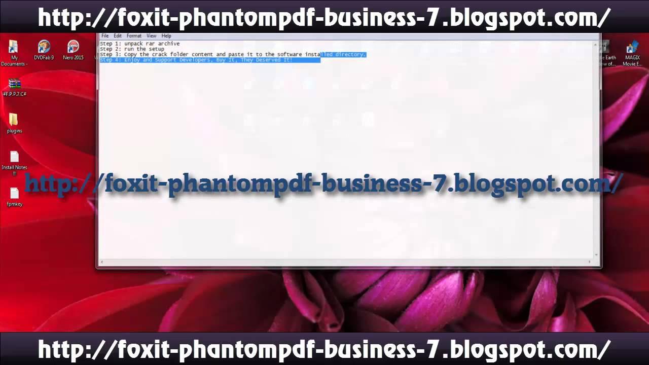 foxit phantom business serial key