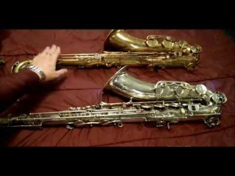 Selmer Super Action 80 Tenor Saxophone vs. Bently