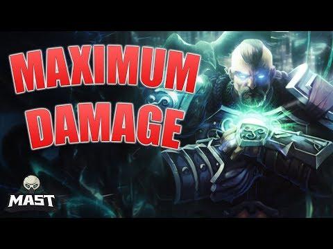 SMITE: Full Damage Tyr! - Jungle Gameplay