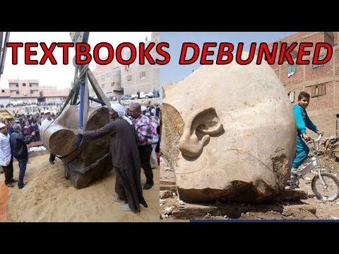 MASSIVE Egyptian Stone Statue Found 2017! Lost Ancient High Technology CONFIRMED! Pyramids of Egypt