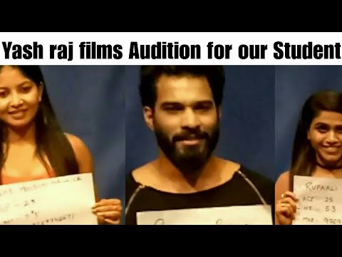 Yash raj Films Casting Team at Lets Act Actor Studio for our Student Audition