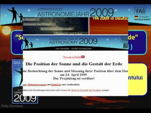 International Year of Astronomy Accomplishments