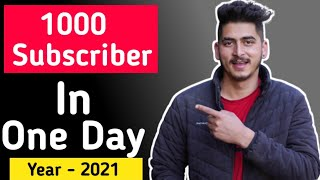 How to increase youtube subscriber fast || subscriber kaise badhaye 2021