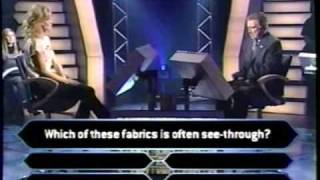 1/2 Eva Herzigova on Millionaire (supermodel edition)