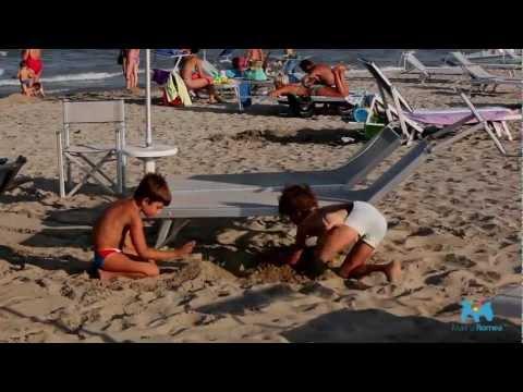 Family beach holidays in Marina Romea