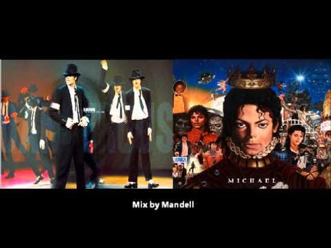 Michael Jackson - Dangerous Vs Michael Jackson -Hollywood Tonight