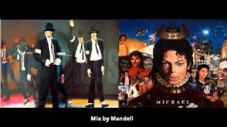 Michael Jackson - Dangerous Vs Michael Jackson -Hollywood Tonight
