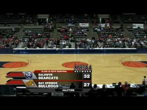 2012 MHSAA Class 2A Boys Basketball Semifinals #2