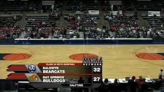 2012 MHSAA Class 2A Boys Basketball Semifinals #2