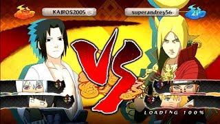 САСКЕ ПРОТИВ ЛАРСА   Naruto Shippuden: Ultimate Ninja Storm 2 ОНЛАЙН БОЙ