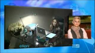 Jennifer Lopez in Ellen's Prank 2