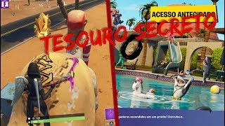 FORTNITE: SECRET TREASURE OF WEEK 4 OF SEASON 5