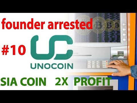 Unocoin Exchange Founders  Arrested | Sia Coin 2x Profit Hardfork | Short Term Trading Coins Cn#10