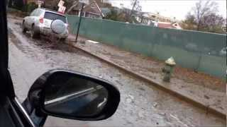 Hurricane Sandy hits Brooklyn NY (Sheepshead Bay) 10.29.12.wmv