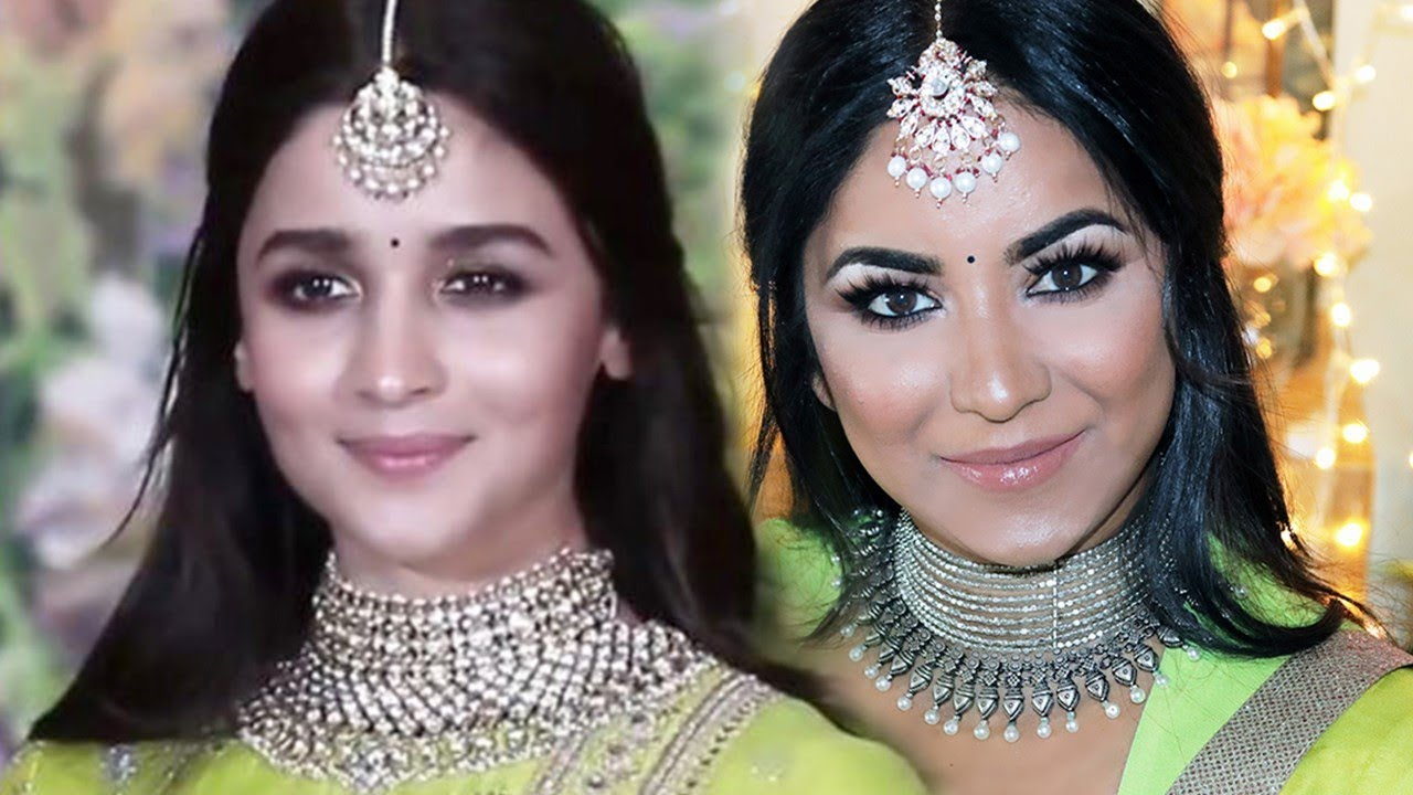 Alia Bhatt Inspired Makeup And Hairstyle Sonam Kapoor Wedding