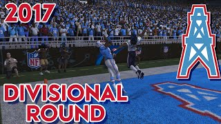 Madden 15 Franchise Mode - Houston Oilers | Season 4 Divisional Playoff vs Texans