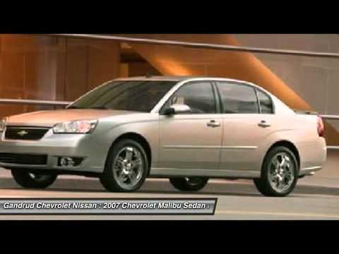 2007 Chevrolet Malibu Green Bay Wi C1622ad
