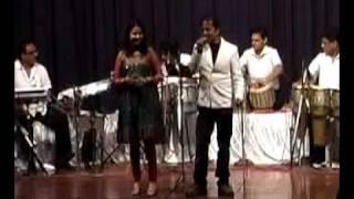 FINEST CONCERT AT ISKON-Deepali Joshi Shah/ Nitish- Song- aaja ke intazar