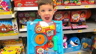 Toy Shopping at Walmart For Ryans World Toys with Caleb & Mommy!