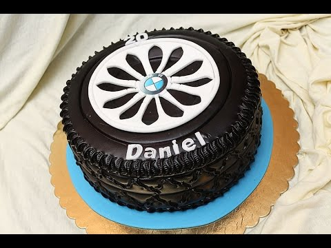 Gumiabroncs Torta How To Make A Tire Cake Cake Decorating