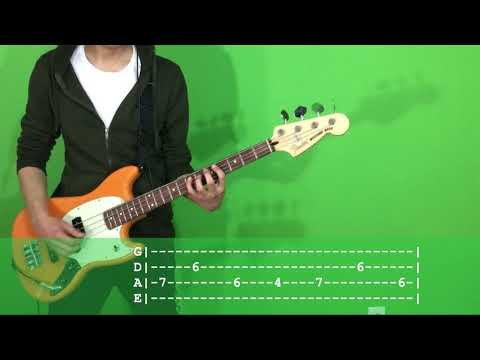 Fall Out Boy Stay Frosty Royal Milk Tea Bass Cover With TAB
