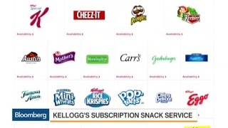 Kellogg Plans Subscription Snack Service