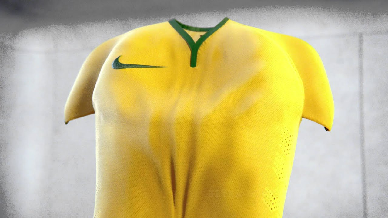 2ee90c27ed2 Nike Brazil 2014 Home World Cup Soccer Jersey - YouTube
