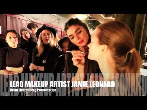 Behind the Scenes Brian Lichtenberg Makeup Room
