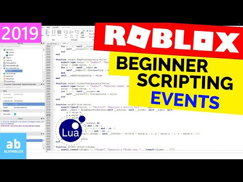 Events - Beginner Roblox Scripting #10 - [Long Edition]
