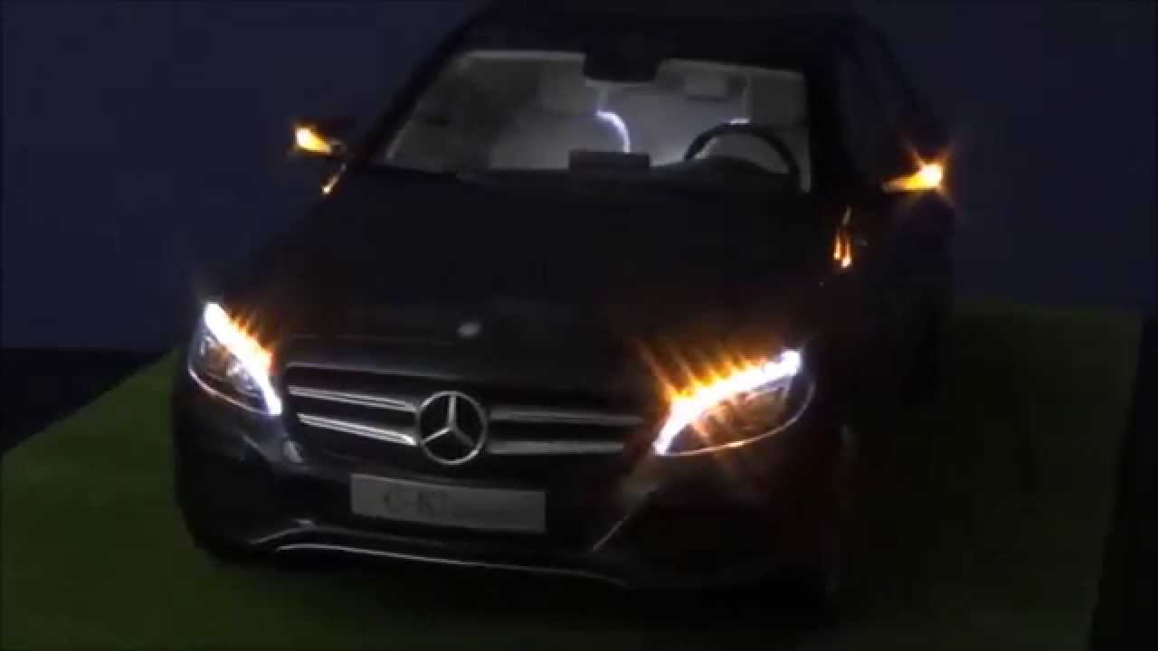 norev  mercedes benz  class led tuning  mbw youtube