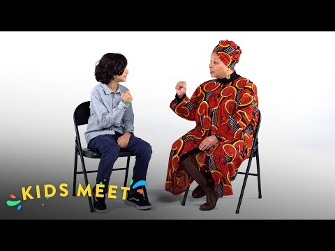 Kids Meet Former Black Panthers | Kids Meet | HiHo Kids