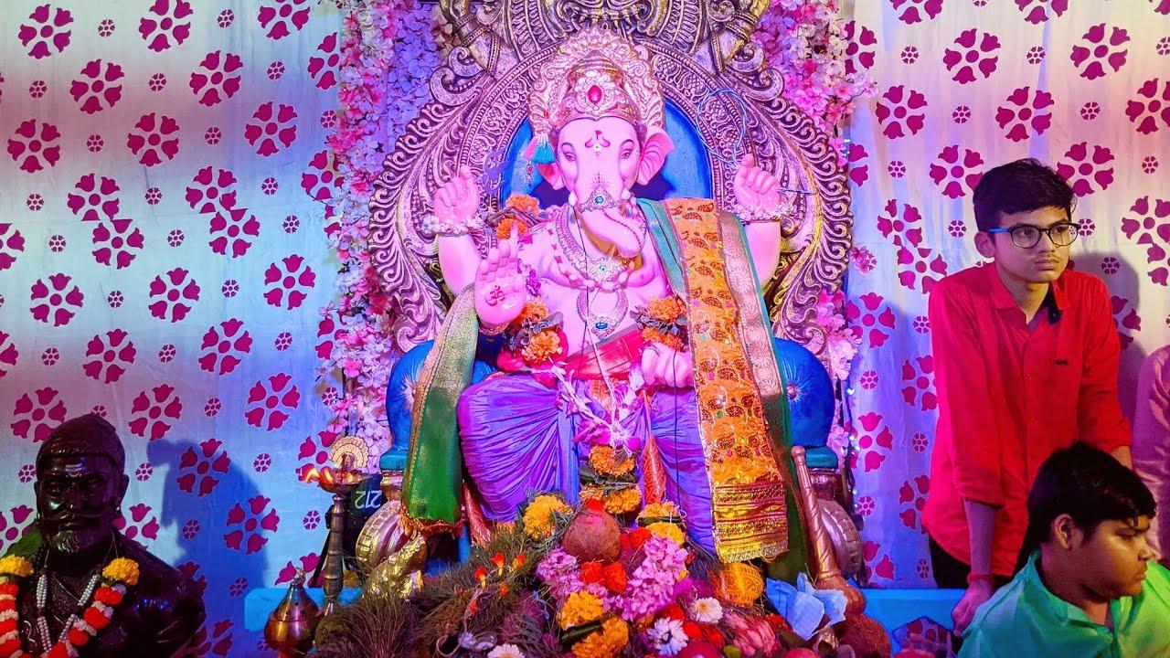 Upnagaracha Raja 2021 | उपनगराचा राजा २०२१ | Mumbai Ganpati 2021 | Borivali | 4k Mumbai Attractions