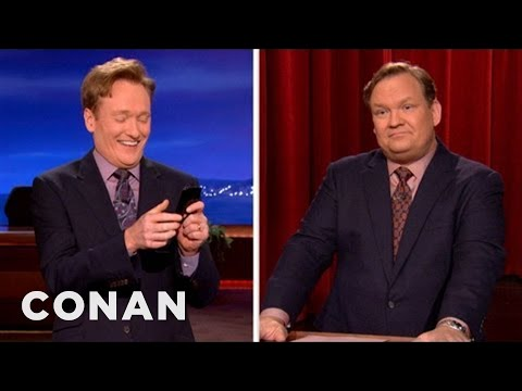 Conan Steals The Presidential Debate Splitscreen - CONAN on TBS