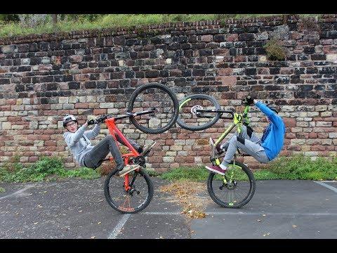 Justin Castor, Nick Franzen  MTB  Street Trial  BikeLife